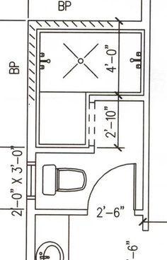 Rezultat slika za doorless walk in shower dimensions
