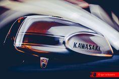 © Igor Sclausero #motorcycle #vintage #kawasaki #tank