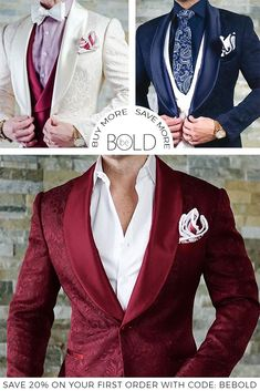40% OFF Just For You! When You Add 5 Items To Your Cart! Home Of The Official Dinner Jacket! #MensFashion
