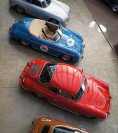 vintage numbered cars