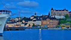 Postcard from Stockholm Photo by Emanuele Del Bufalo — At any time of the day you find yourself staring at a glimpse, a corner of the city and be fascinated. The colors, architecture, nature, make this city of dreams, very photogenic. Stockholm, Sweden