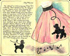 Pink Poodle Skirts by sandyw2410, via Flickr