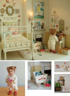 My Dollhouse Days - love the pictures on this site.
