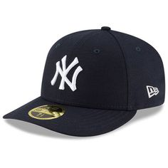 Men's New Era Navy New York Yankees Team Superb Low Profile 59FIFTY Fitted Hat
