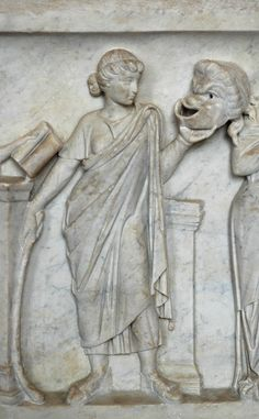 Thalia sarcophagus Louvre Ma475 - Muse - Wikipedia, the free encyclopedia