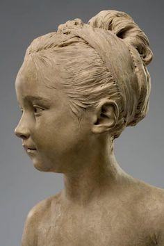 [Un jour, une œuvre] Louise Brongniart (1772-1845) par J-A. Houdon http://bit.ly/1JcsbD8 #LouvreSculptures