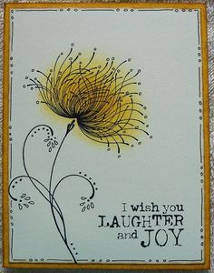 just doodling by lacyquilter - Cards and Paper Crafts at Splitcoaststampers watercolorcards Watercolor And Ink, Watercolor Flowers, Penny Black Cards, Paint Cards, Flower Doodles, Motif Floral, Mail Art, Flower Cards, Diy Cards