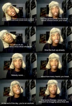 Kingsley. lmao this guy cracks me up. And I think he's from Missouri too!
