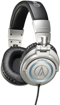 Audio-Technica Limited Edition 50th Anniversary ATH-M50s (Straight Cable) | Sweetwater.com $169.99