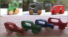 Kinderspielautos als Greiflinge Bauanleitung zum selber bauen