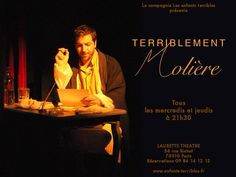 Molière écrivant sa dernière lettre au Roi
