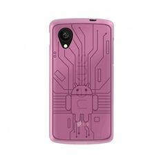 Funda Nexus 5 - Cruzerlite Bugdroid Circuit Case - Pink