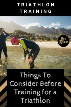 Things To Consider Before Training for a Triathlon - Proper training could help you collect majority of their advantages but there are always some issues that you just inertly have which largely contribute to your mastery of the sports activities. Ironman Triathlon Motivation, Triathlon Training Program, Men's Triathlon, Triathlon Women, Triathlon Wetsuit, Triathlon Tattoo, Training Programs, Running For Beginners, Running Tips