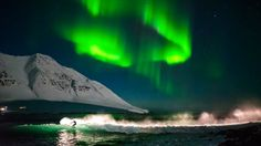 #Surf and #travel photographer Chris Burkard tells the story of filming #surfing under the #Northernlights