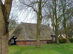Old Farm Houses, The Province, Dutch, Farmhouse, House Styles, Cabins, Homes, Gem, Poster