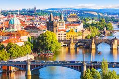 The cheapest city trips to in Europe including Prague, Budapest, and Rome for affordable sightseeing, dining, and lodging. Albania, Budapest, Cheap European Cities, European Countries, Prague Travel Guide, Visit Prague, Site Restaurant, Prague Castle, Prague City