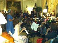 Jane Austen tea at The Mount, celebrating 200 years of Pride and Prejudice, hosted by Alison Larkin, narrator of P&P audiobook from BMA Audio - The Mount | Edith Wharton's Home