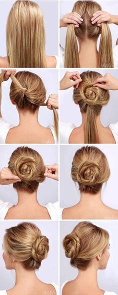 Tres tutoriales de peinados paso a paso