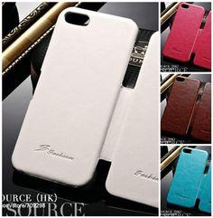 Retro iPhone 5 Leather Case