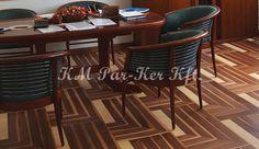 Wood inlay floor, parkett, parketta