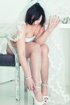 Bridal lingerie by Loyde Triana Bridal Lingerie, Sexy Lingerie, Wedding Shoes, Bikinis, Swimwear, Brides, Bra, Fashion, Wedding Shoes Heels
