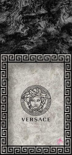 Black Fur   Versace Wallpaper