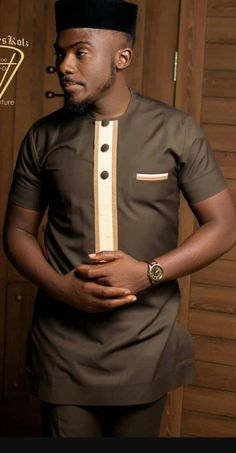African Male Suits, African Wear Styles For Men, African Shirts For Men, African Dresses Men, African Attire For Men, African Clothing For Men, African Style, Ankara Styles For Men, Nigerian Men Fashion