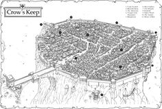 Low Fantasy Gaming RPG is an OGL variant, rules lite, with an emphasis on low magic and exciting, dangerous combat. Fantasy Map Making, Fantasy City Map, Fantasy Castle, Fantasy Rpg, Medieval Fantasy, Fantasy Town, Medieval Castle, Dungeons And Dragons 5, Village Map