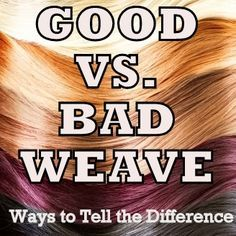 Sew in extensions on caucasian hair hair extensions extensions good vs bad weave hair how to tell the difference longing 4 length sew in pmusecretfo Choice Image