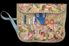 Free pattern and tutorial download sewing supply case