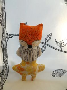 Fantastic Mr Fox Vintage yellow trousers by woollysoup on Etsy, £30.00