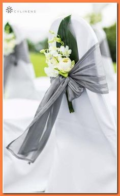 irritating to scheme your wedding upon the cheap? (Who isn't?) admission useful articles   ideas approximately planning a wedding upon a budget. Or you can find an affordable... *** You can find out more info at the link of the image. Wedding Chair Sashes, Outdoor Wedding Decorations, Wedding Chairs, Wedding Centerpieces, Decor Wedding, Diy Wedding, Christmas Decorations, Wedding Ceremony Ideas, Outdoor Ceremony