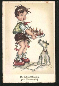 Artisti-AK-Hilla-Peyk-congratulazioni-per-compleanno-ragazzo-indossa-salsiccia-PIASTRA-KLE