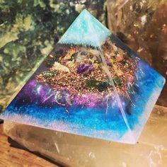 Close up shot of this magical Faery inspired pyramid.
