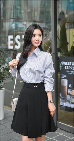T-Shirts, Dress, Blouse, Skirts, Pants & Korean Fashion Dress, Korean Dress, Kpop Fashion Outfits, Girls Fashion Clothes, Korean Outfits, Cute Fashion, Asian Fashion, Skirt Fashion, Fashion Dresses