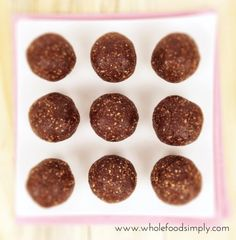With 3 ingredients and little time you can whip up our Ferrero Rocher Bliss Balls. Free from gluten, grains, dairy, egg and refined sugar. Enjoy.