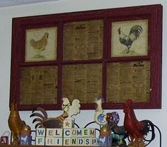 Old Window Craft Projects | RE: have been offered a bunch of old paned windows..need ideas...