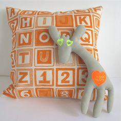 ABC cushion cover