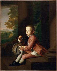 Daniel Crommelin Verplanck - John Singleton Copley, 1771 - oil on canvas, Metropolitan Museum of Art