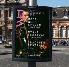 Rejane Dal Bello - City of Delft Visual Identity designed by Studio Dunbar