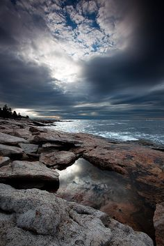 ✯ Tidal Pool - Boothbay, Maine