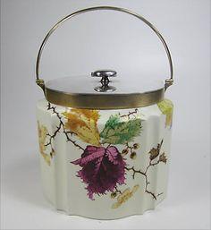 Cookie Jars -- Vintage Wedgwood Biscuit Barrel