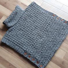 Aura Pullover, sweater sans manche, poncho - Utilisé modèle de The Velvet Acorn par MlleCrochet sur Etsy https://www.etsy.com/ca-fr/listing/278607644/aura-pullover-sweater-sans-manche-poncho