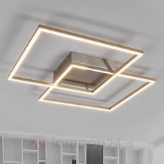 Interessant gevormde LED plafondlamp Mirac veilig & makkelijk online bestellen op lampen24.nl