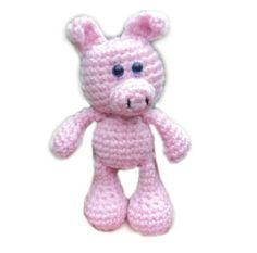 Amigurumi To Go Little Bigfoot Elephant : Little Bigfoot Piggy