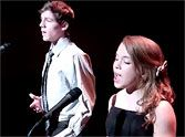 Noelle  and  Ryland                         Two Kids Sing an Incredible Performance of The Prayer - a MUST SEE :)