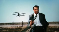 """So many great things about """"North by Northwest.""""  One of my favorite lines is when Cary Grant says to Eva Marie Saint, """"Tell me something.  How does a girl like you get to be a girl like you?"""""""