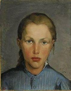 Helene Schjerfbeck, Arbetarflicka