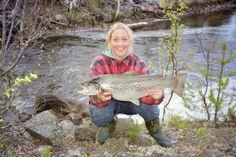 Big trout in Vuollerim