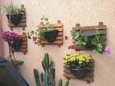 Resultado de imagen para jardim vertical para terraço pequeno